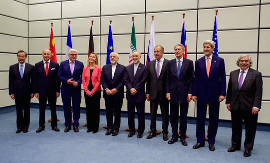 The Iran nuclear deal negotiators.