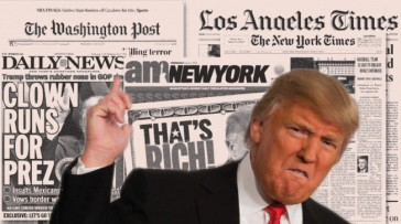 Image result for media trump
