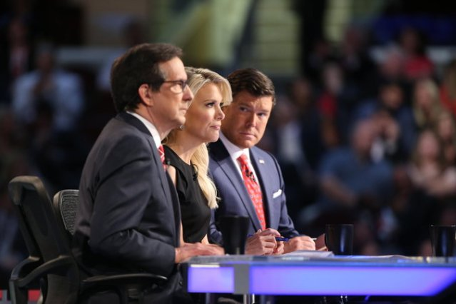 Debate moderators Chris Wallace, Megyn Kelly, and Bret Baier did their best to trap Trump.