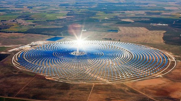 Way to go, Morocco! A solar mega-plant to deliver electricity to half the country's population.