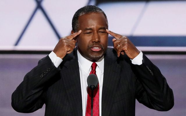 Even though Ben Carson admitted he wasn't qualified to serve in government, he's Trump's choice to run HUD. Maybe he's channeling a new wacko theory on pyramids.