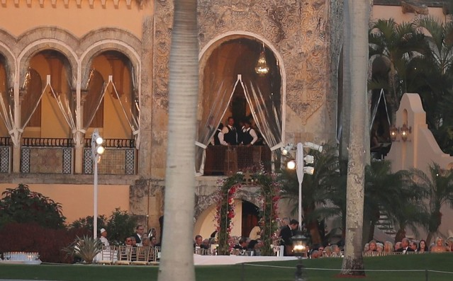 No shortage of trappings at Mar-a-Lago when Trump's in town. He profits, and we pay.